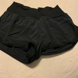 Lululemon High Waisted Running Shorts